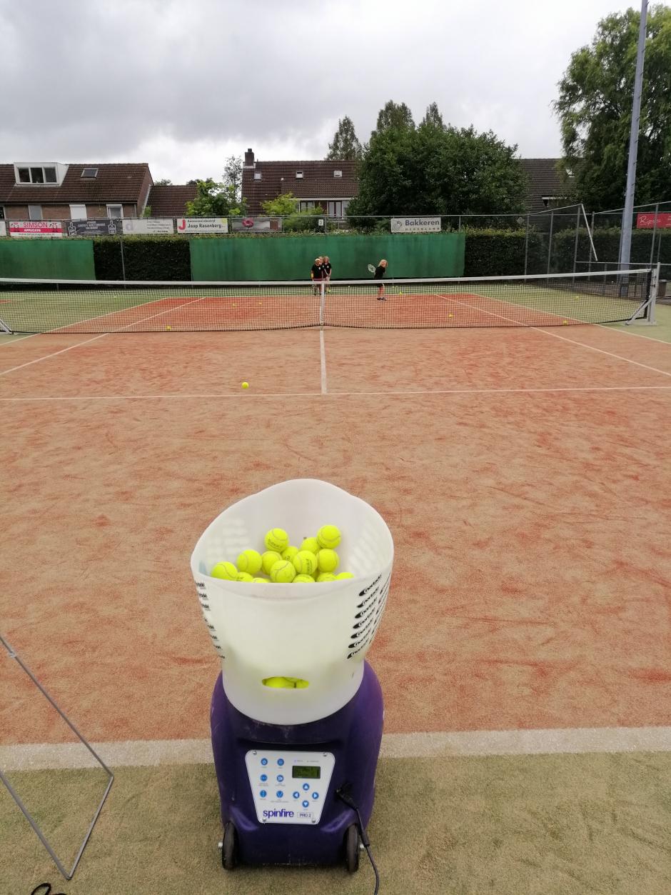 Tennisochtend jeugd, 30 augustus 2020